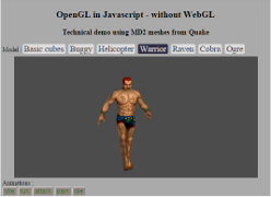 A Javascript implementation of (a portion of) the OpenGL Specification